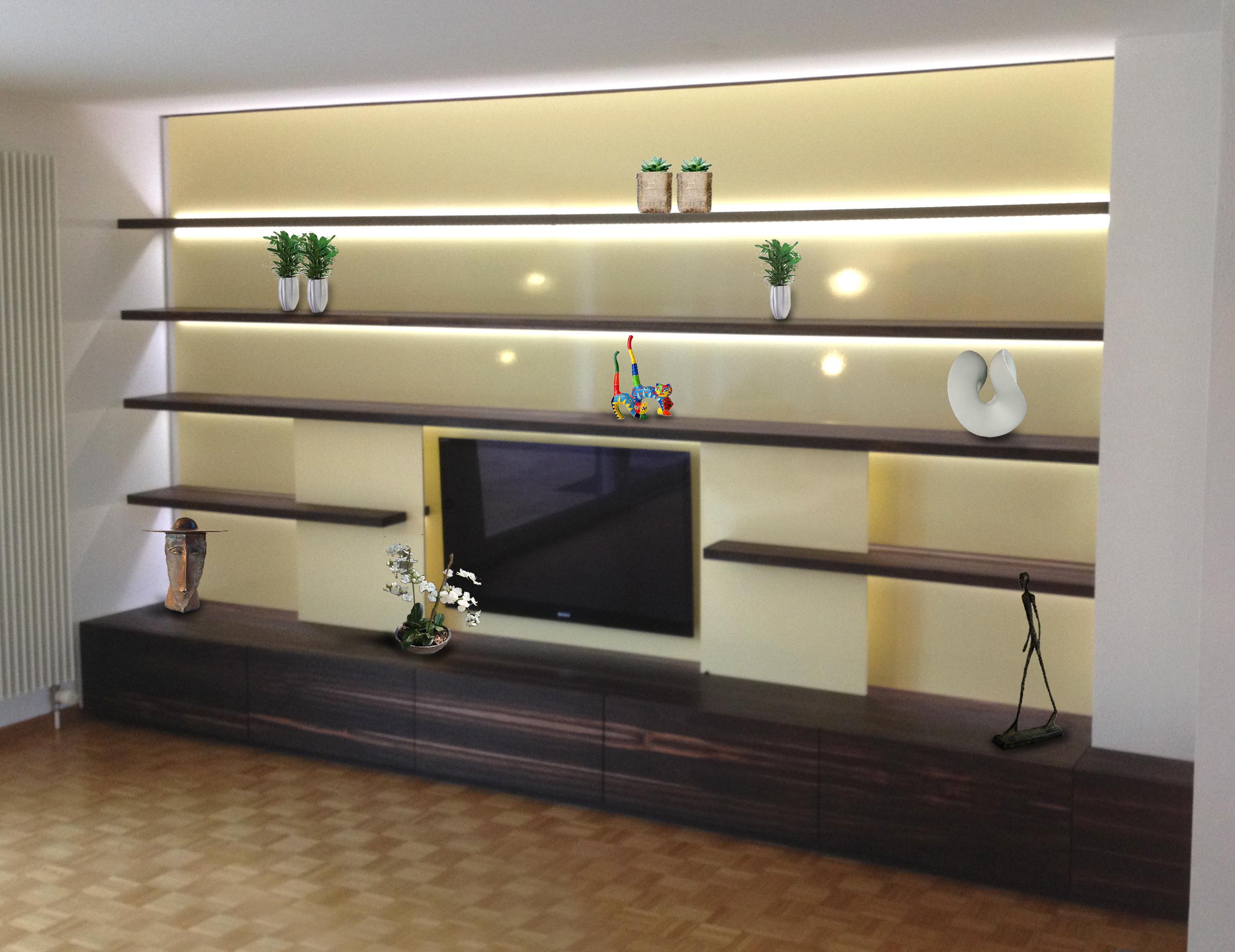 Wohnwand: rh design   die kreative werkstatt